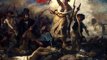 """Etude du tableau """"La liberté guidant le peuple"""""""