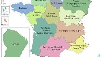 Carte d'identité de ma région