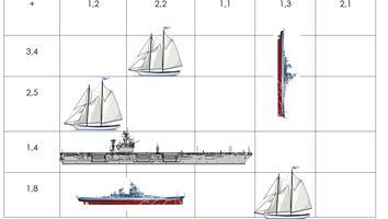 Bataille navale les décimaux