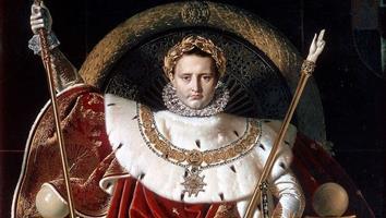 Napoléon Bonaparte, du général à l'Empereur, de la Révolution à l'Empire.
